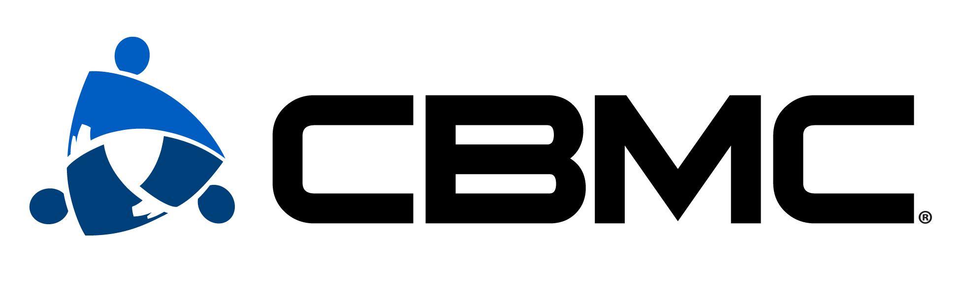official CBMC logo straight across