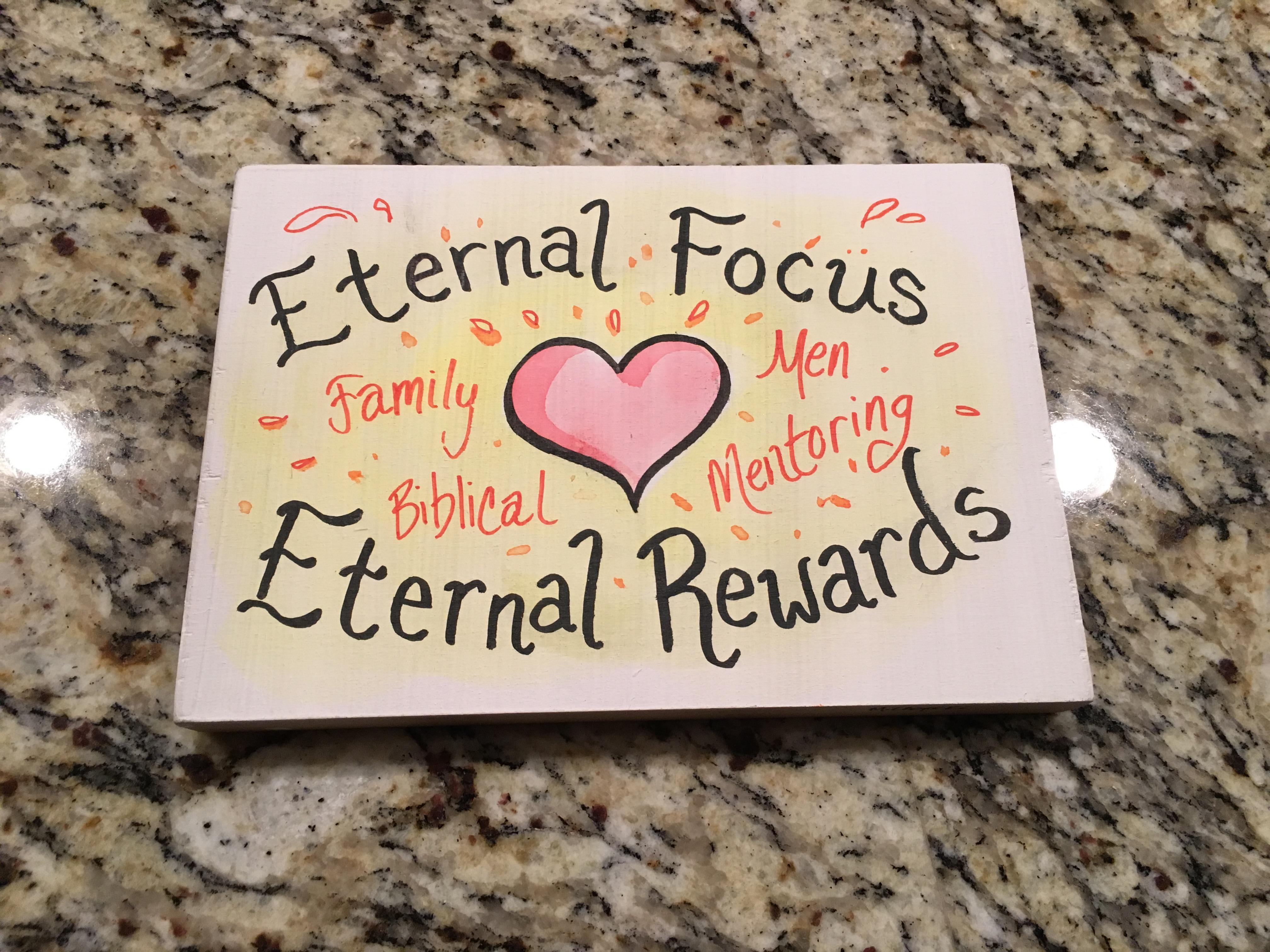 Eternal Focus, eternal rewards